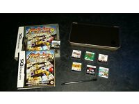 Nintendo DSI XL with games