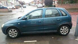 Vauxhall Corsa 1.2 SXI 16V Blue 5 Door Hatchback 2001, 69931 miles. FOR SALE £590 London
