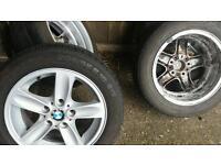"""Bmw . 16"""" alloy wheels"""