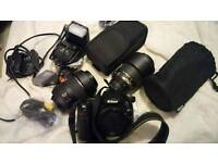 Nikon d5000 and accessories