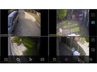 CCTV camera with cameras