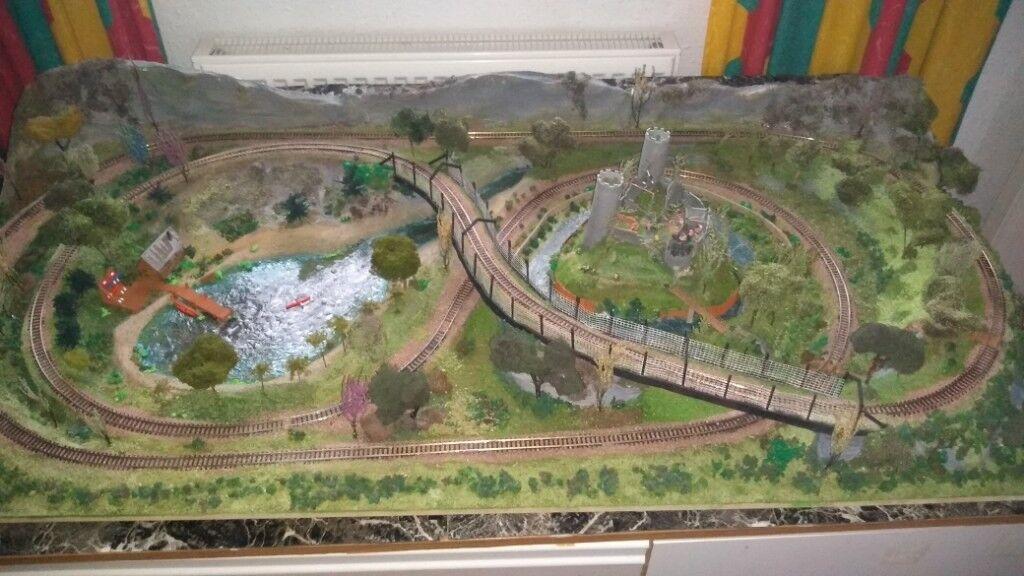 N gauge model railway *layout only* (no loco / rolling stock or power  controller) Sensible Offers | in Loanhead, Midlothian | Gumtree