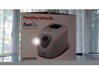 Brand New Morphy Richards Bread Maker (fast bake)