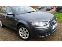 AUDI A3 DIESEL, 12MONTHS MOT, SERVICE HISTORY, CHEAP ON FUEL TAX, CD ALLOY TIDY BIG BOOT £1450ONO