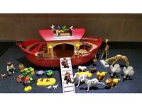 Playmobil Noah's Ark with lots of animals and accessories