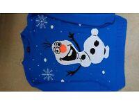 Frozen - Olaf Jumper & T Shirt