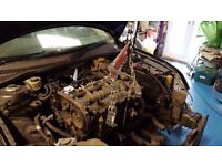 Breaking Saab 9-3 Vector Sport 1.9TiD (150hp) 2006 all parts available