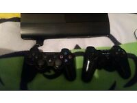 PS3 CONSOLE AND 26 GAMES