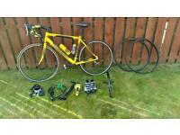 Apollo tdf 7005 aluminium road bike 58cm