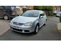 VW Golf FSI-SE with 1 previous owner with FSH