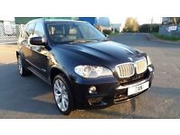 BMW X5 M-SPORT 35 D X-DRIVE, 2009 (59) ,BLACK, 2 FORMER KEEPERS, FULL SERVICE HISTORY,