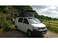 VW T5 Campervan - low mileage camper in great condition, ready for adventure