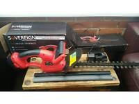 Sovereign, cordless hedge trimmer,