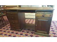 darks wood desk