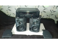 Aiwa Speakers+ Sony Amplifier