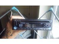 Kenwood car stereo cd player