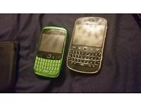 Blackberry Bold and Curve