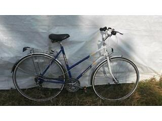 VERY NICE LADYS ORIGINAL VINTAGE EMMELLE HYBRID ROAD BIKE COMMUTING UNI