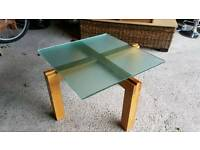 Solid Wooden Framed Coffee Table