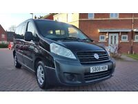 2008 (08) FIAT SCUDO TAXI 1.6 HDI SCOTCAB CONVERSION PEUGEOT EXPERT E7 CITROEN DISPATCH