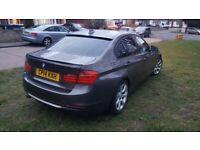 BMW 318D F30 MODERN AUTO 8-G SAT NAV £30TAX DAB RADIO DVD 20GB HARD DRIVE PDC LEATHERS PRIVACY USB