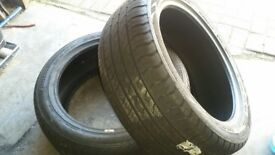 2 new 235 x 45 x zr18 tyres