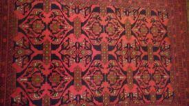 Large Afghan Wool Carpet