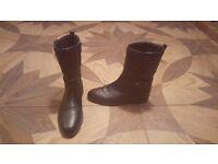 Steffen Schraut Leather Boots
