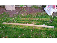 Miscellaneous lengths of external timber for sale - collection only, Lewisham SE London