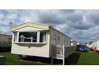 8 berth caravan 3 bed to rent / hire Ingoldmells Skegness (B14)