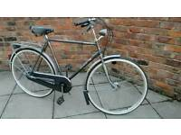 Gents Classic DUTCH bike MONDIA (Large-60CM & PANNIER rack) Immaculate condition