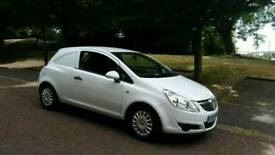 2009 Vauxhall Corsa Van 1.3 cdti diesel 5 speed 12 months MOT Just been serviced