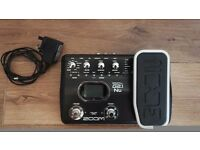 Zoom G2.1nu Multi Effects Pedal. Excellent Condition.