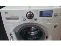 LG Direct Drive 11kg Spin 1400 washing machine in good working order and condition