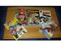 AVAILABLE IF LISTED. 5 x NUMBER 1 COMICS. All In New Sleeves. All in Very Good Condition.