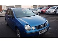 Volkswagen Polo 1.2 Twist 5dr£1,595 p/x welcome