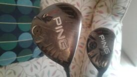 Ping G25 3 wood and rescue