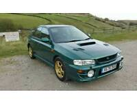 Subaru impreza uk turbo 2000 awd 4x4 x reg saloon not wrx sti jap