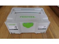 NEW FESTOOL T18+3 SYS 2 T-LOC SYSTAINER