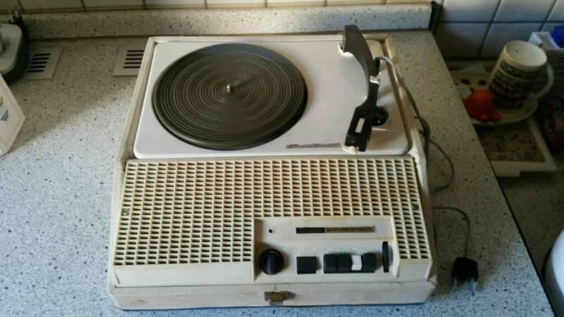 koffer plattenspieler europhon phonograph kosmophon in. Black Bedroom Furniture Sets. Home Design Ideas
