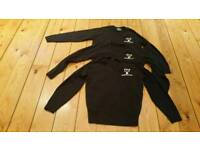 """3x Huntington School Chest 36"""" V-Neck Jumper, only used 2 terms"""