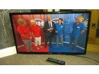 Samsung 32 inch tv built in freeview razor frame