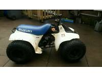 LT 50 CC CHILDS ALL TERRAIN QUAD BIKE.