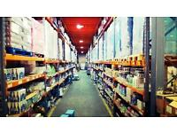 Warehouse Operative Required Croydon with Driving Experience of 3.5T preferred