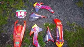 Ktm 2014 150cc plastics (used)