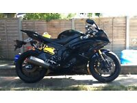 YAMAHA R6, BLACK, LOW MILES, 2010, 2 OWNERS