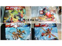 Lego Ninjargo sets (more sets in pics)