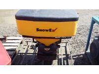 Snowex mini pro 575 salt spreader griter broadcaster quad atv compact tractor
