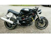 Suzuki tl1000 finished cafe racer project streetfighter flat tracker rat bike. 1 years mot