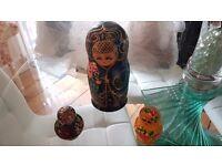 3 Russian Nesting Doll Sets